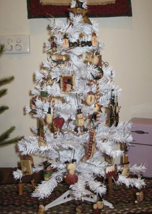 Michelles snowman tree_1
