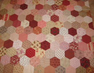 Michelles hexagon quilt_1
