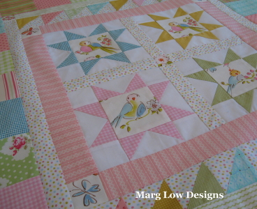 Marg Low Designs: something pretty, something red : fabric for baby quilts - Adamdwight.com
