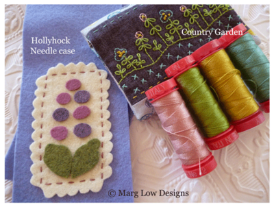 Counrtry-Garden-&-Hollyhock-Needle-Case