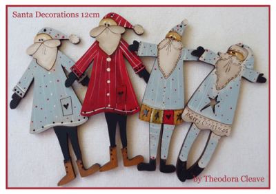 Santa-Buttons
