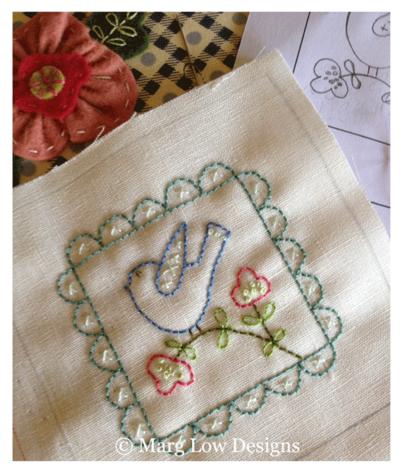 Birdie-stitchery