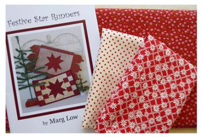 Checkerboard-Star-Runner-fabrics