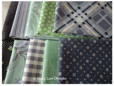 Grey-green-fabrics