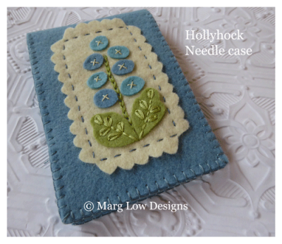 Hollyhock-Needle-case-Love-bug-blue