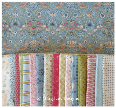 Fabric-Bundle-with-mini-strawberry-thief