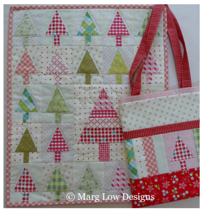 Christmas-Tote-and-quilt