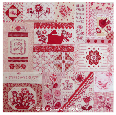 Postcard-quilt-top