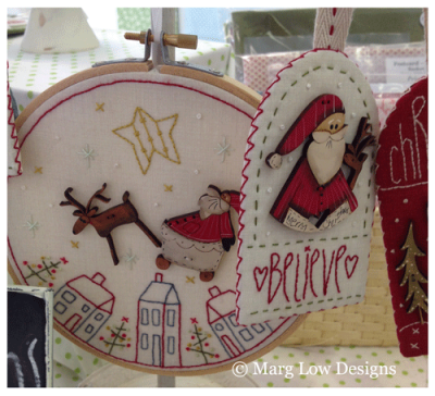 Christmas-decorations-with-Barbs-buttons